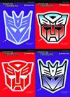 TRANSFORMERS LOGO PACK VINYL DECAL ASST (Net)